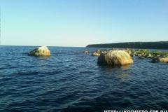 Вид на Западный березовый с большого березового острова