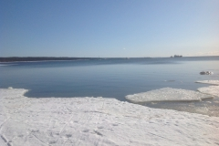 Лед в проливе Бъёркезунд
