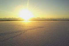Лед в проливе Бъёркезунд, Березовые острова в Финском заливе