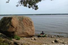 Камень на Большом березовом острове