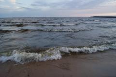 Песчаный пляж на Большом березовом