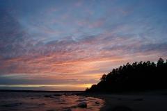 Закат на Большом Березовом острове