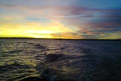 Закат в Финском заливе
