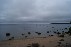 Пляж, Большой березовый остров