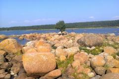 Маленький каменный остров