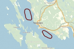 Карта мест для ловля корюшки зимой