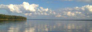Северный березовый остров фото, солнечный пляж на Северном березовом острове