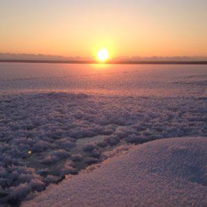 Березовые острова, Бъёркезунд зимой.